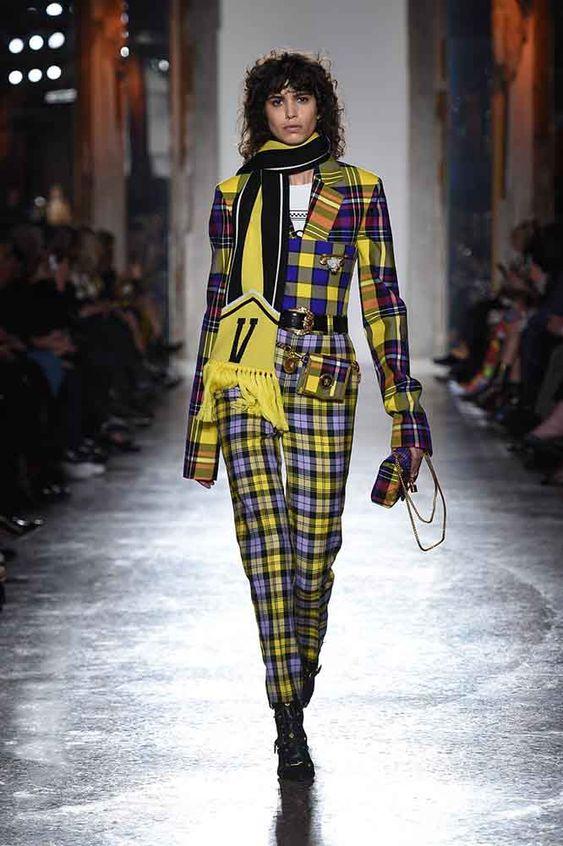 versace-fall-2018-fw-18-collection (4)-tartan-look