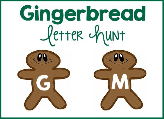 with a gingerbread theme. Print out as many copies of the Gingerbread ...