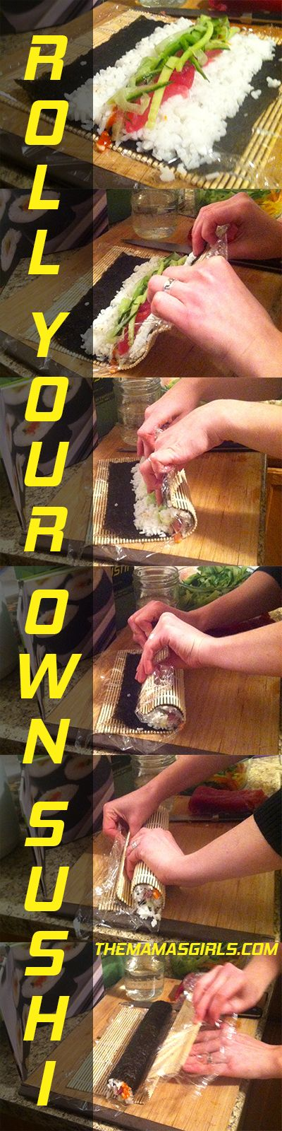 HOW TO ROLL YOUR OWN SUSHI