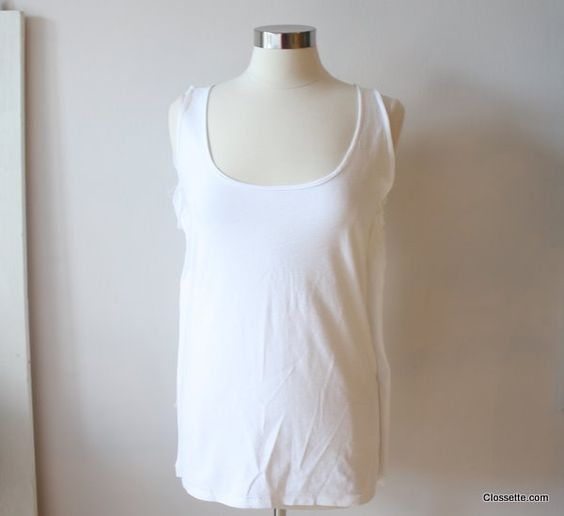 HOW TO: Make Your Boyfriend's T Shirt into a Cute New Tank Top turn-your-boyfriends-t-shirt-into-a-tank-top – Clossette | Vintage, revamped and DIY fashion