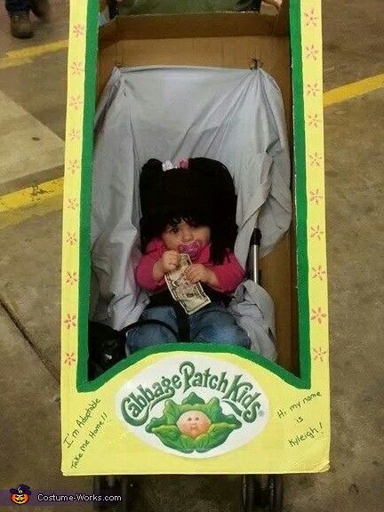 Homemade halloween costumes and cabbages on pinterest for Cabbage patch halloween costume