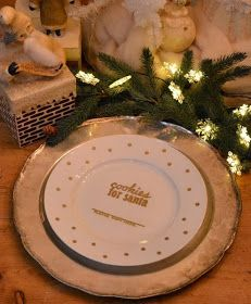 *Rook No. 17: recipes, crafts & whimsies for spreading joy*: DIY: Cookies for Santa Autograph Plate