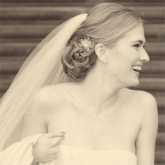 coque baixo para noiva