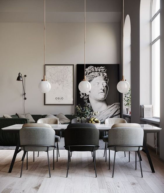 The Best Furniture Trends To Expect In 2020 Modern Dining Room Dining Room Decor Dining Room Decor Modern
