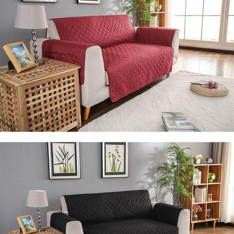 Waterproof Pets Sofa Cover Reversible And Washable Couch