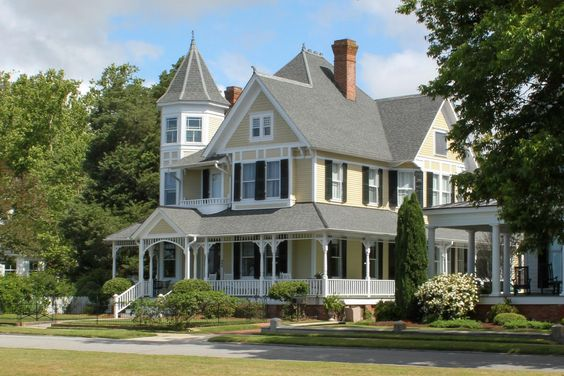 Southern homes historic homes and porches on pinterest for Our victorian house
