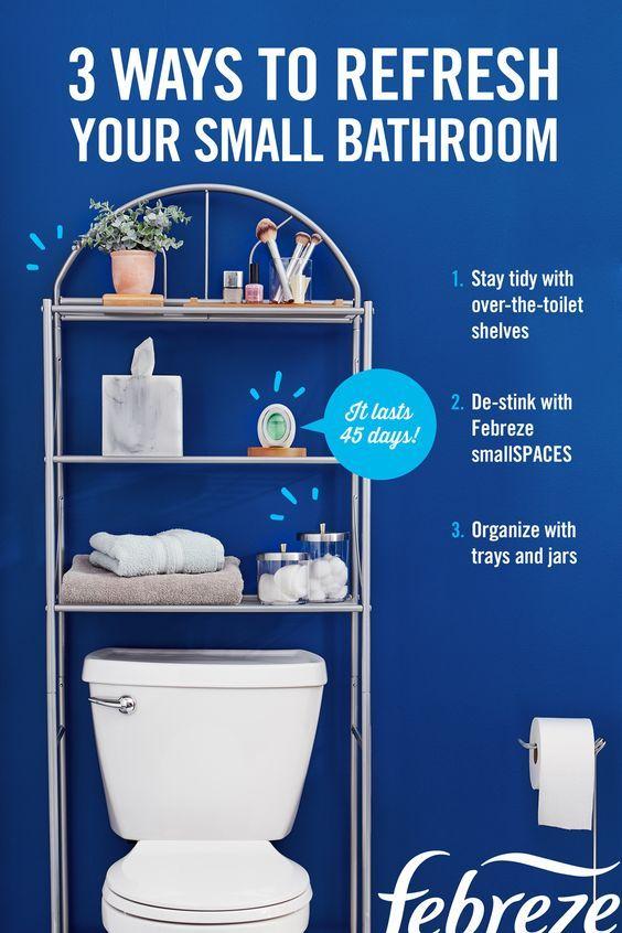 48 Easy Shower Design Ideas For Small Bathroom In 2020 Small Bathroom Organization Small Bathroom Toilet Shelves