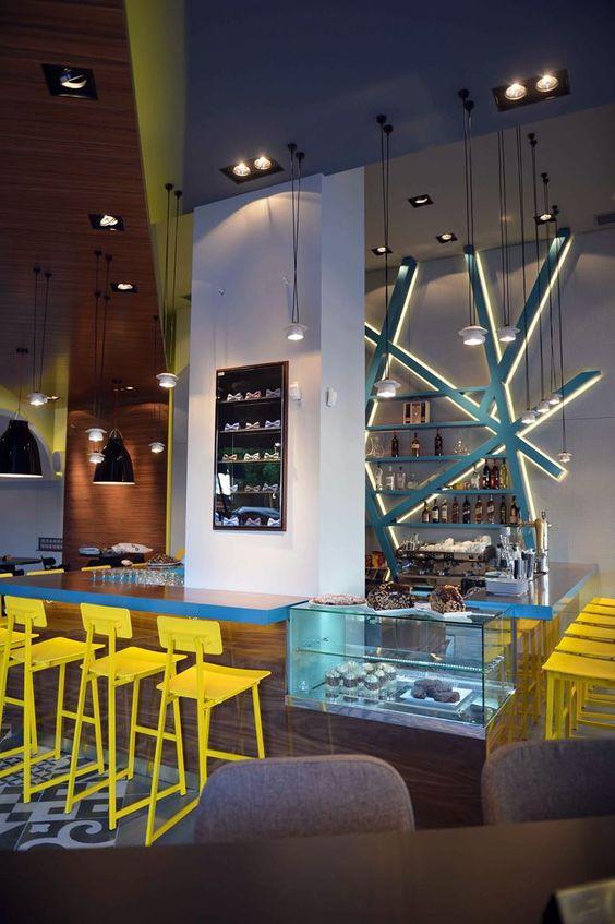 PAPILLON WINE BAR - Picture gallery #architecture #interiordesign #bar