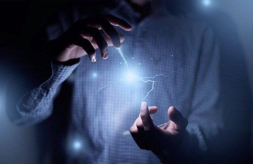 #superpower #lightning #hand: