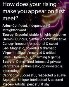 Cancer - I am all those things but that is definitely not what I appear to be at first sight.