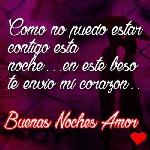 Imägenes Buenas Noches Amor Frases Románticas Buenas