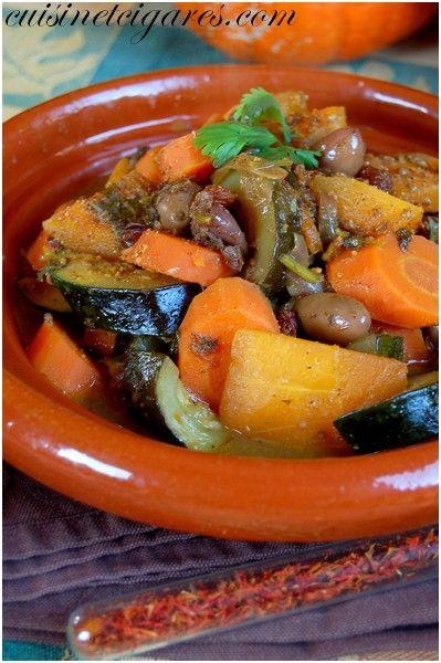 Tajine de Légumes d'Automne Solo