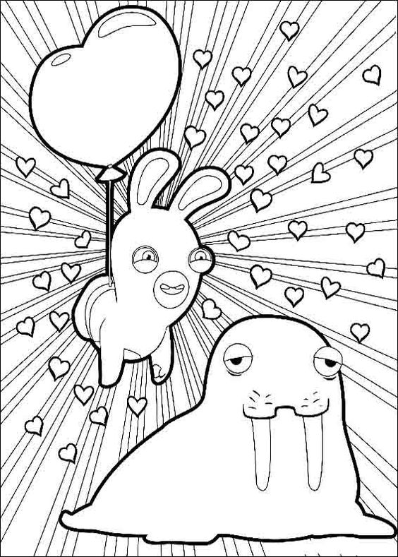 Pinterest • The world's catalog of ideas Rabbids Coloring Pages