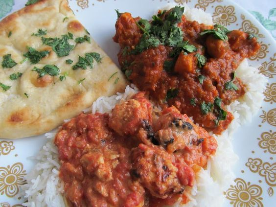 Indian food recipes: chicken tikka masala and chicken curry