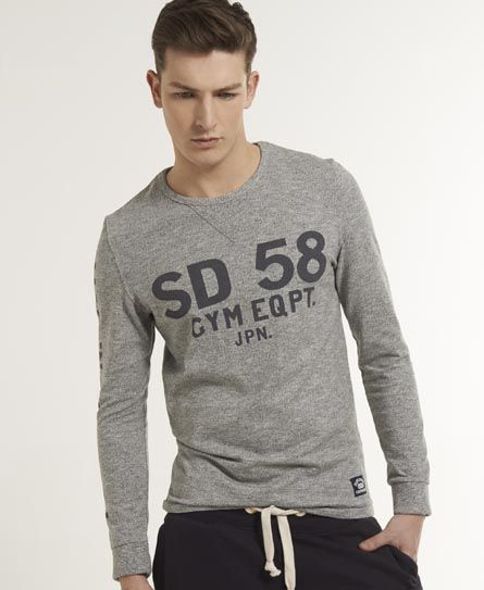 Superdry Camiseta Pommel - Camisetas para Hombre