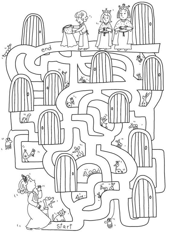 Sabías q si tu hij@ hace laberintos le ayudas a practicar trazos y volver mas fácil el escribir aca un laberinto p practicar #juegoencasa