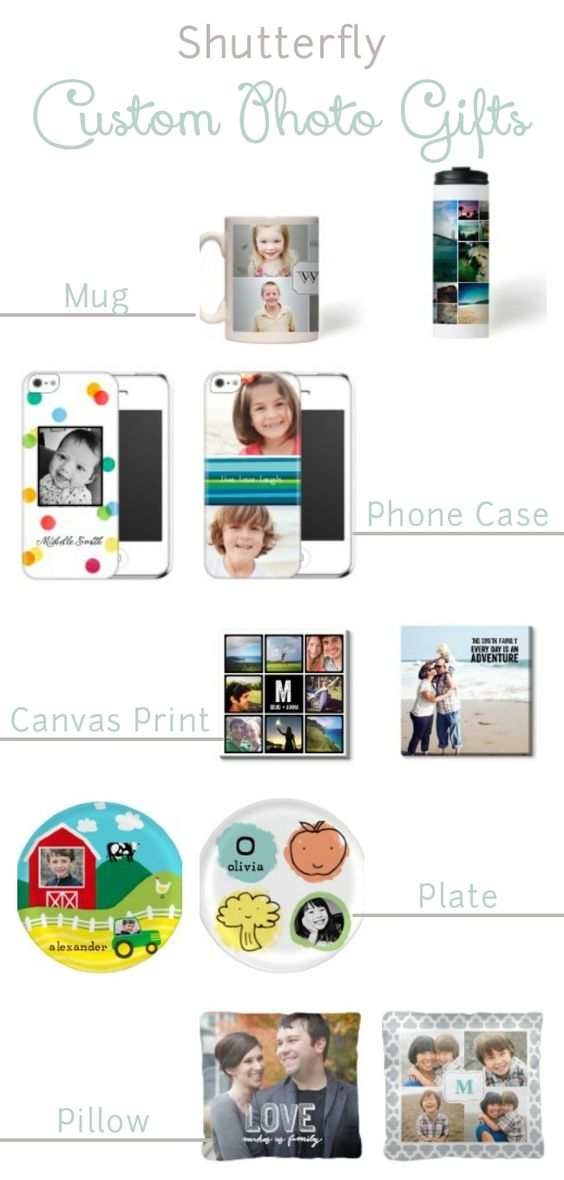 Pictures are my favorite gifts!!! Holiday Photo Gifts - get now during Shutterfly First Look Holiday 40% Off Sale