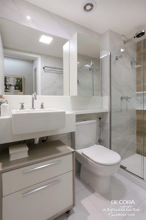 Apartamento Dbr Projeto De Interiores Banheiro Social Banheiro