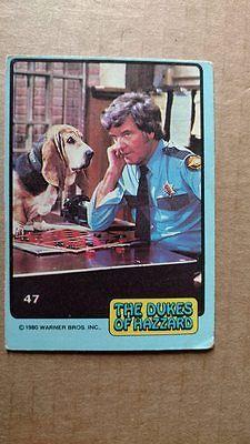 1980 Dukes Of Hazzard card # 47 from the TV Series  https://t.co/m15adzci46 https://t.co/kRJgGbjTTW