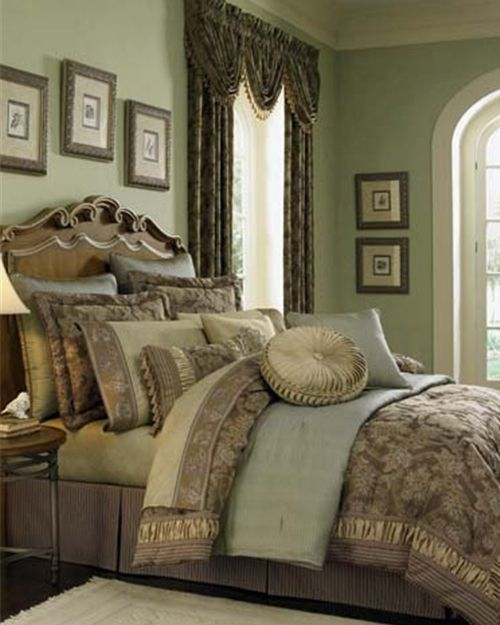 Croscill Marcella...totally the color palette I want to use in our next home.