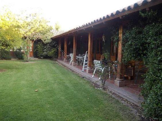 Terrazas techadas estilo chilenas buscar con google - Terraza casa de campo ...