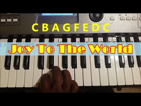 Learn How To Play Joy To The World In This Easy Piano Tutorial For Absolute Beginners Piano Songs For Beginners Keyboard Tutorial Easy Piano