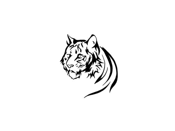 Feminine Tiger Tattoos | Free designs - Head of tiger tattoo wallpaper