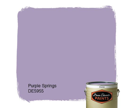 Dunn-Edwards Paints May 2016 Color of the Month: Purple Springs DE5955 | Click for a free color sample #DunnEdwards