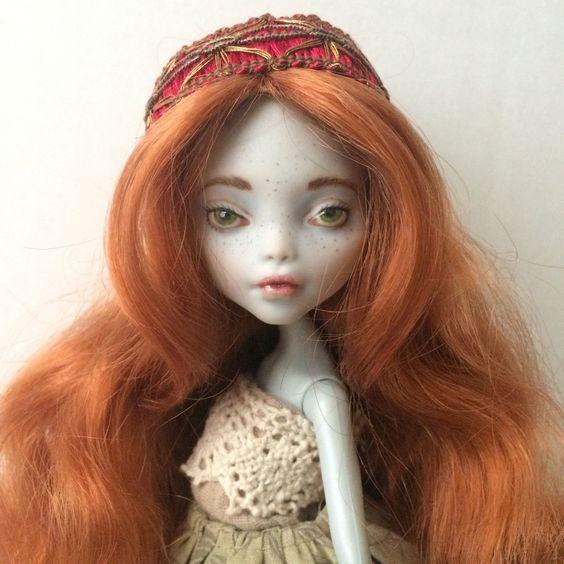 Monster High Lagoona Custom OOAK Doll   eBay