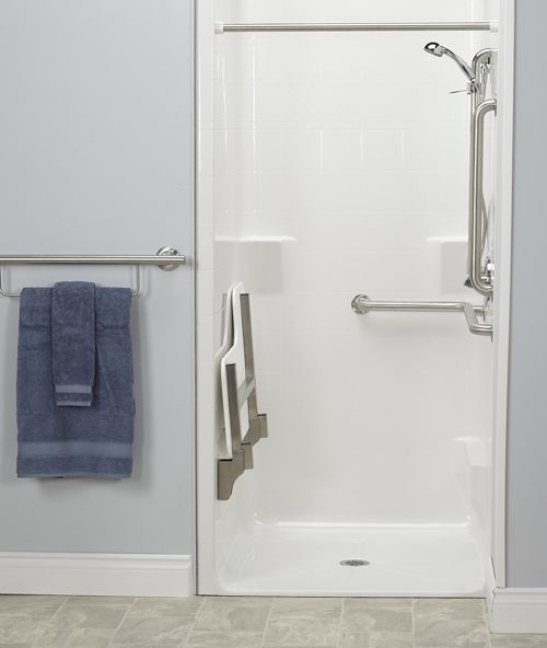 An Ada Transfer Shower From Freedom Showers Is Code Compliant It
