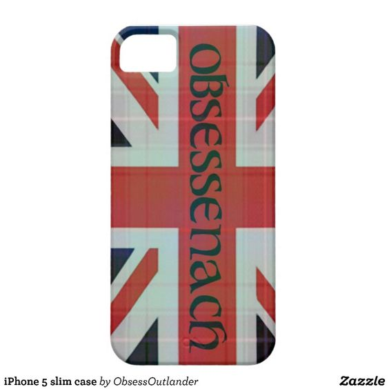 Obessed With Outlander? iPhone 5 slim case iPhone 5/5S Cover #outlander #sassenach #obessenach