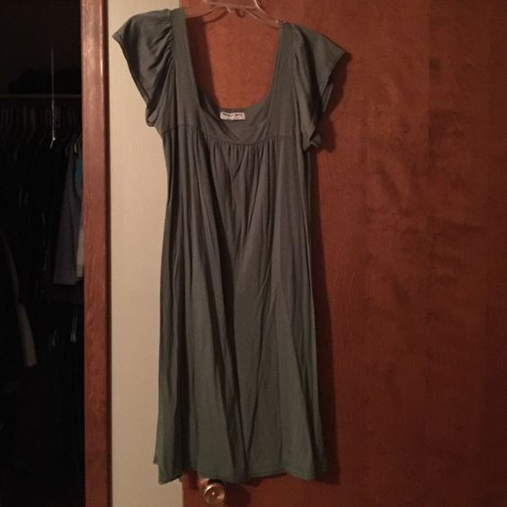 Michael stars cotton dress Green cotton dress never worn Michael Stars Dresses Midi