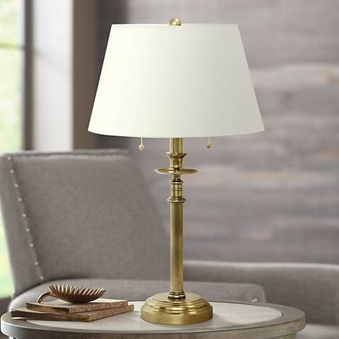 House Of Troy Bennington 2 Light Olde Brass Table Lamp 8w927 Lamps Plus Table Lamp House Of Troy Brass Table Lamps