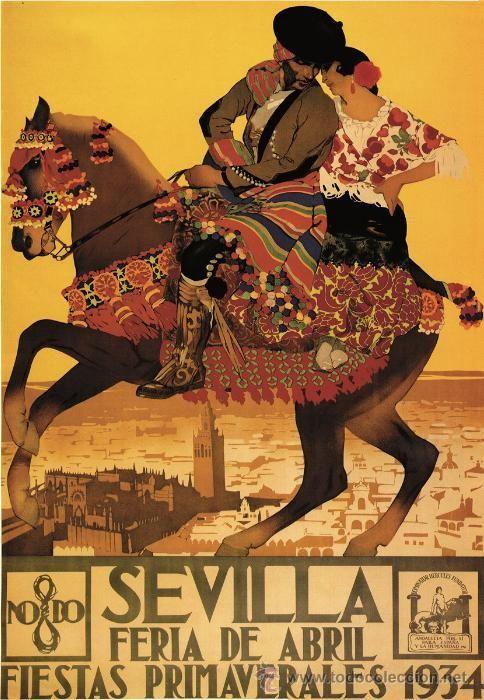 Fiestas en Sevilla 1934
