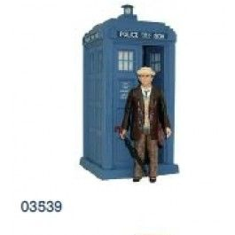 Dr. Who - Action Figure - 7th Doctor (Brownt) Classic TARDIS (Lights/Sounds) | Captain Hook Merchandise