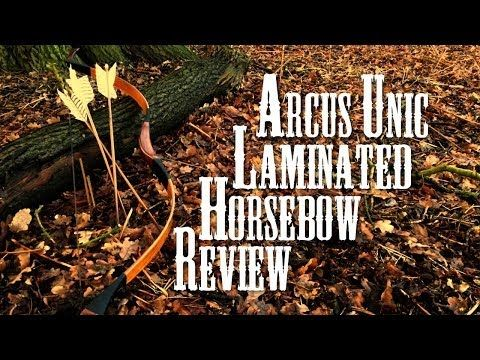 ▶ Unic Laminated Horse bow by Arcus (review plus montage) - YouTube