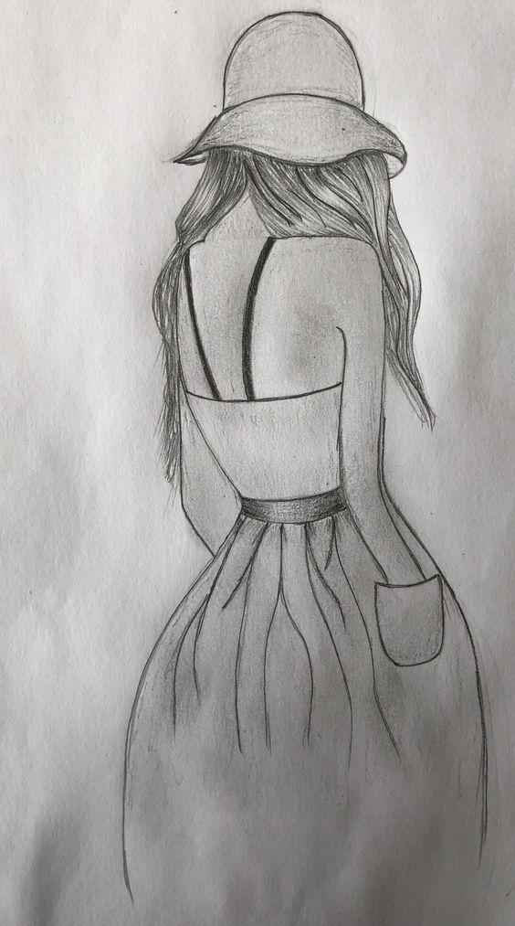 Drawing Ideas Cute Fur Madchen Sie Wieder Zeichenideen