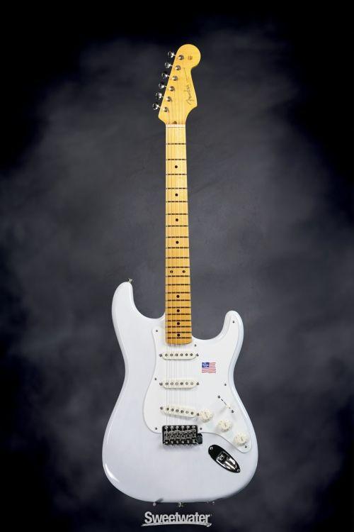 Fender Eric Johnson signature stratocaster - white blonde