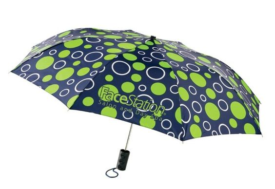 Parings: Polka Dots Umbrella with your shopping center logo.
