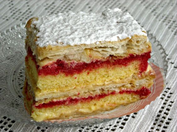 """Italian Pastry Cake Recipes: The """"diplomats"""" Are Delicious Pastries Square Or"""