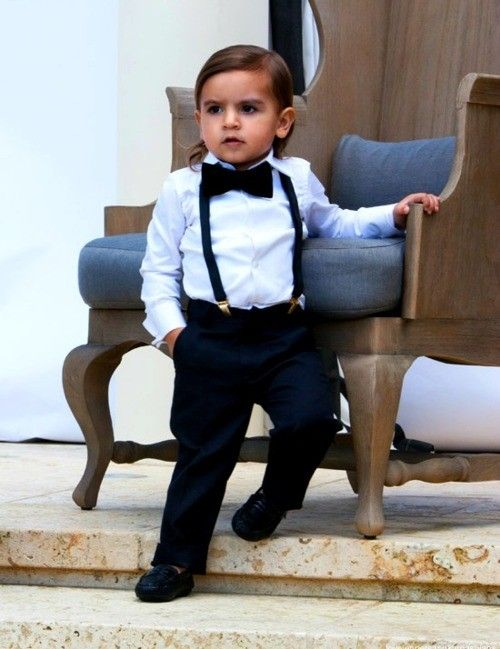 Mason Disick. @Lucy Mitchell i expect your children to look this this baba :)