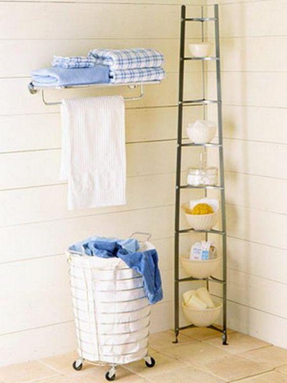 organization ideas + bathroom | ... : ORGANIZAÇÃO NOS BANHEIROS - 3 - Bathroom Organization Ideas