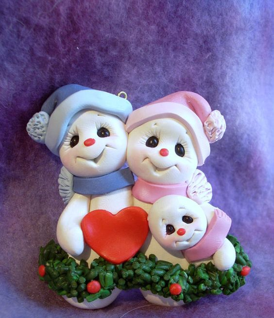 Polymer Clay Christmas Ornament: Adults And For Kids Too. Polymer