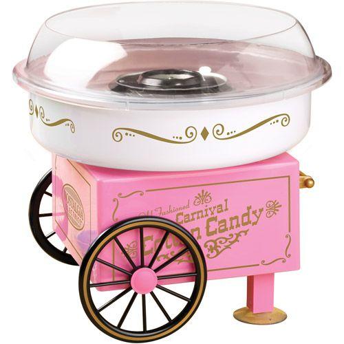 Nostalgia Electrics Vintage Collection Hard & Sugar-Free Candy Cotton Candy Maker, PCM305