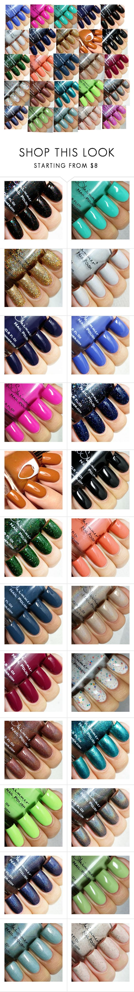"""""""Nail polishes(1)"""" by ikrakhan ❤ liked on Polyvore featuring beauty"""