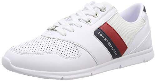Tommy Hilfiger Lightweight Leather Sneaker Zapatillas Pa Https Www Amazon Es Dp B07l3ckptv Ref Cm Sw R Pi Dp U Zapatillas Zapatillas Mujer Tommy Hilfiger