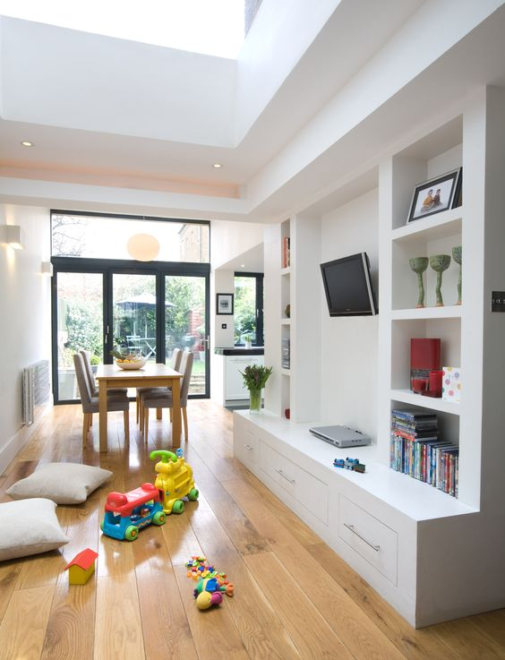 Extension in Islington to create an open plan, family friendly living space. http://www.architect-yourhome.com/