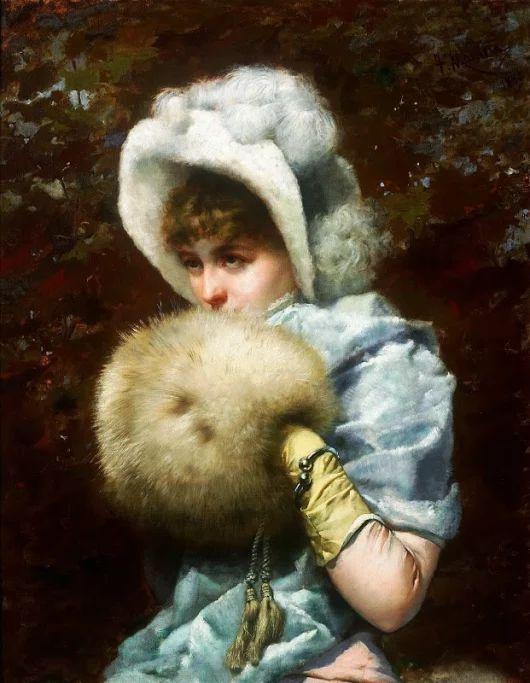 Художник Francisco Masriera Y Manovens(1842−1902) Зима,1882
