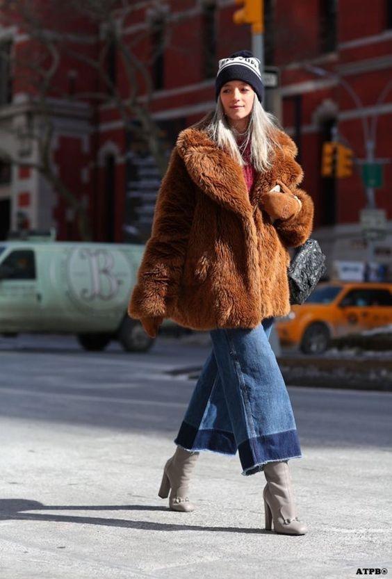 Tendencia Amada Para El Invierno: Abrigos De Piel Sintética   Cut & Paste – Blog de Moda
