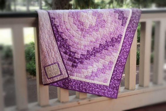 Trip Around the World Quilt - Eleanor Burns Quick Trip Quilt Quilts Pinterest The world ...
